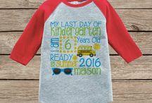 Bethany's kindergarten clothes