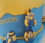Minion taart / Taarten met het thema minion. #Miniontaart, #Minioncupcake, #minion3dtaart, #taartspijkenisse, #taartbestellen