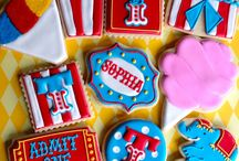 decorated cookies-Circus