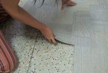 suelo vinílico autoadhesivo para baño
