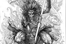 Mitología Asiática