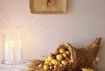 Thanksgiving Decor / by Celeste Trudeau