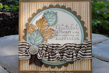 Stampin Up Card ideas / Craft ideas / by Alison Reid