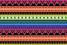aztec patterns to paint!