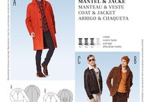 Men's clothing & patterns / Inspiration