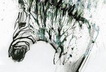 Zebra EDS tattoo