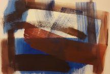 Alessandra Bisi Pigmenti su carta / Si tratta dei miei dipinti con pigmenti su carta 2015 2016
