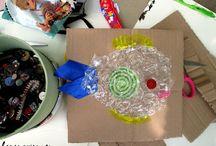 pomysły moje i dzieci - warsztaty / zdjęcia z moich ekowarszatów