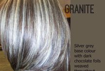 Grey hair blending