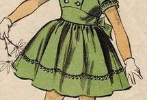 Винтажные детские платья