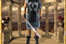 Maximus Gladiator, Carthage Costume