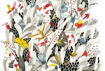 Patterns and illustrations