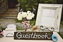 Wedding Guestbook & Seating Plans / Get inspired with these fun, quirky, and elegant guestbook and seating plans.