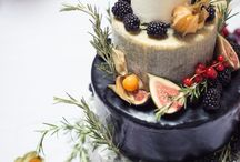 Beautiful cakes and sweets