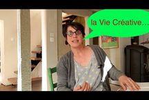 LA VIE CRÉATIVE, ou Comment réparer un fauteuil vous emmenne vers la vie créative ! / J'ai découvert que les activités manuelles nous permettent de découvrir la Vie Créative. Dans ce tableau je vous révèle ce que j'appelle la Vie Créative !