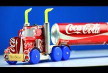 Trucks (rubber band powered truck)