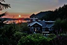 Lodging: Gulf & Discovery Islands / Accommodation in the Gulf Islands & Discovery Islands of British Columbia, Canada.