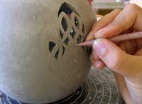 keramikk / til oppgaven moodboard