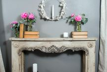Upcycled - Fireplace