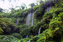 Waterfall in Central Lombok / Waterfall in Central Lombok, Indonesia.