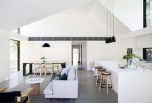 bungalov s vysokým stropem