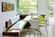 bench seating kitchen