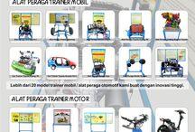 Brosur Alat Peraga Pendidikan / Berisi beberapa alat peraga trainer smk otomotif hasil produksi kami