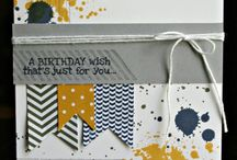 Stampin Up birthday cards/Bags