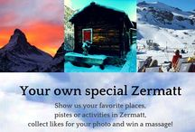 Your special own Zermatt / Show us your own special Zermatt and win a massage! Send us a photo of your favourite places, pistes or activities in Zermatt via Facebook. We will collect the photos in an album weekly from saturday to friday. The user whos photos gets the most likes until friday 12 a.m. will win a voucher for a massage including the free access to our spa and wellness area.
