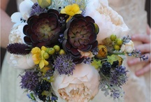 wild and wonderful bridal bouquets