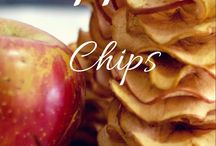 healthy apple chips