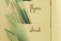 Organization Ideas / by Alicia Moran