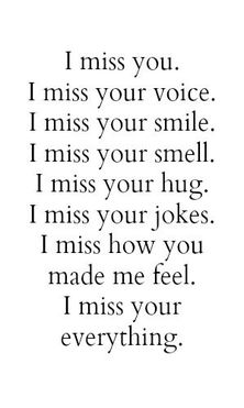 U picture messages miss I Miss