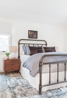 Client Oh Hi Ojai  Brass Bed Inspo!