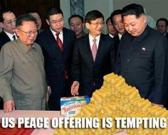 """Kim Jong-Un is receiving a """"peace prize"""" from Indonesia."""