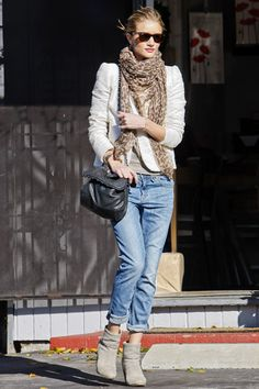 boyfriend jeans with boots