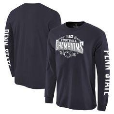 Fanatics Branded Penn State Nittany Lions Navy 2016 Big Ten Football Champions Long Sleeve T-Shirt