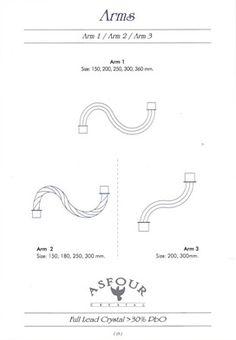 Хрустальные подвески для люстр| Asfour Crystal
