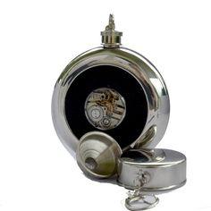 Lommelerke/hip flask Flask, Pocket Watch, Steampunk, Accessories, Pocket Watches, Steam Punk