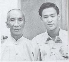 Yip Man, Bruce Lee, circa 1956
