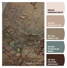 Paint colors from ColorSnap by Sherwin-Williams Paint Color Palettes, Paint Color Schemes, Tan Paint Colors, Paint Walls, Malted Milk, Sand Painting, Sherwin William Paint, How To Be Likeable, Exterior House Colors