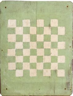 Early Painted Game Board, - Cowan's Auctions