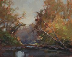 Morning Glow by Barbara Jaenicke Oil ~ 8 x 10