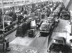 MG Assembly lines by Auto Clasico, via Flickr