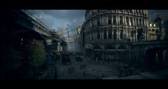 The Order 1886 : Mainstreet, Patrick Stone on ArtStation at https://www.artstation.com/artwork/RnLmy