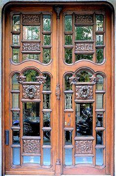 Barcelona ~ Mirrored Doorway