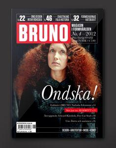 BRUNO Magazine #4–2012 by Morris Pinewood Stockholm , via Behance