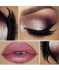 Super Hot Pink Glowing Makeup Ideas