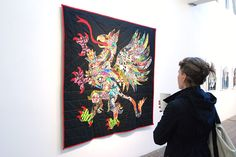 quilts made from shirts and jeans, by Ben Venom.
