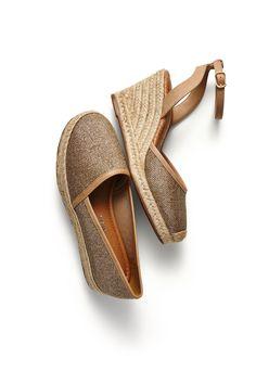 espadrille - sandálias - dourado - golden - brilho - Verão 2016 -  Ref. 15-14201 | 15-14003